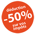 50% de réduction
